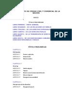 ANTEPROYECTO DE CÓDIGO CIVIL Y COMERCIAL DE LA NACIÓN