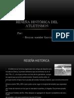 Reseña histórica del atletismos