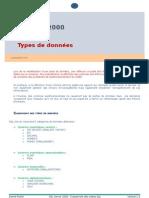 Types de données-2003