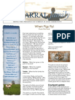 2014 Spring Newsletter for Chaparral Christian Church
