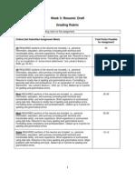 Week3 Resume Draft Grading Rubric[1]