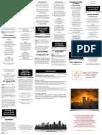 Jan 26, 2014 Worship Folder