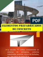 Elementos Prefabricados de Concreto - Prefabricados