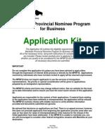 Mpnp Business Kit visa