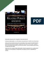 Relatii publice eficiente