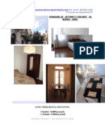 Furnished Apartments for Rent in Buenos Aires - 2 Bdr