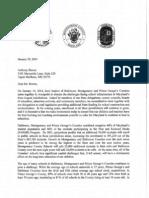 Leggett, Kamenetz, Baker School Funding Letter to Gubernatorial Candidates