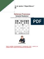 EDAMI_Defensa Francesa Variante Rustemov