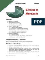 UNIDAD 2 TECNICAS DE MODULACIÓN