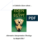 Do RCs Know About Alt Theology of Eden in Egypt?