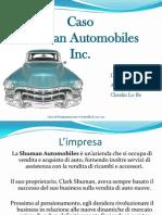 Caso Shuman Automobiles Inc Gruppo 12