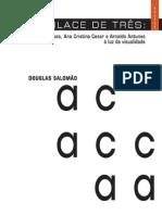 livro edufes um enlace de três Augusto de Campos Ana Cristina Cesar e arnaldo antunes a luz da visualidade