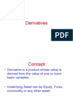 Intro to Derivatives