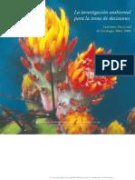 La investigación ambiental para la toma de decisiones