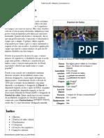 Futebol de salão – Wikipédia, a enciclopédia livre