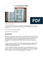 Why Should You Use the King James Bible