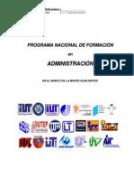 DOCUMENTO PNFA versión 2011