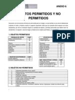 Objetos Permitidos y No Permitidos Rev1 Anexo6