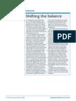 reading-shifting the balance