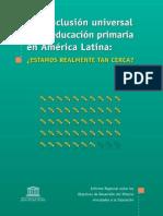 Conclusión Educacion Universal