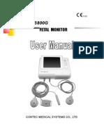 Contec CMS800G - User Manual