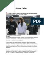 Condenan a mujer vinculada a familia de Álvaro Uribe