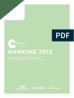 Ranking Culturas Creativas Corporativas