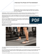 Bodybuilding.com-Kettlebell Explosion Harness the Power of the Kettlebell Swing