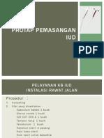 Protap Pemasangan IUD