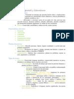Study Guide Espanol y Literatura UNAM