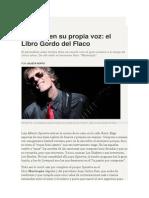 Julieta Roffo - Spinetta en Su Propia Voz. El Libro Gordo Del Flaco.