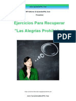 Ejercicios Para Recuperar  Las Alegrías Prohibidas! - AprenderPNL