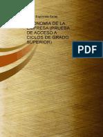Economia de La Empresa Prueba de Acceso a Ciclos de Grado Superior