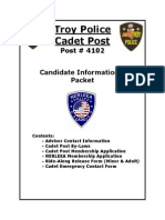 Cadet Informational Packet