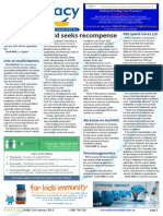 Pharmacy Daily for Fri 31 Jan 2014 - Guild seeks recompense, Terry White in vax trial, PBS spend clocks $7b, Events Calendar and much more