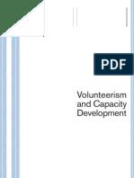 Volunteering and Capacity Development UNV 2002