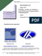 Proteção Jurídica de Software - Guia Prático para Programadores e Webdesigners v2.1 (14-04-08)