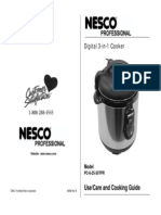 3 in 1_NESCO Pressure Cooker