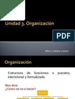 Unidad 3. Organización