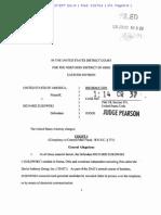 Richard Zukowski Federal Mail Fraud Charging Document