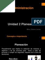 Unidad 2. Planeación