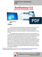 Citrix XenDesktop 5.5 vs. VMware View 5
