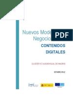 Estudio Nuevos Modelos de Negocio Octubre2012
