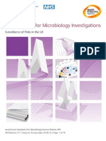 UK Standards for Microbiology Investigations, Surveillance of Polio in the UK