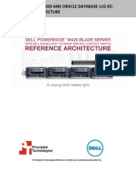 Dell PowerEdge M420 and Oracle Database 11g R2