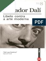 61356907 Salvador Dali Libelo Contra a Arte Moderna