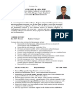 CV of Anwar Ul Karim PMP