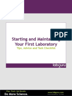 eBook-starting a New Lab-labguru
