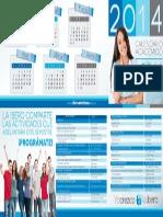 Calendario Academico Estudiantes 2014 1