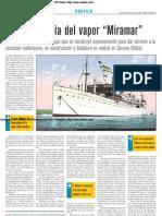 La tragedia del vapor 'Miramar'